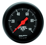 Autometer 2-1/16 inch Fuel Pressure 0-100 PSI Z-Series