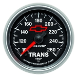 C3 C4 C5 C6 C7 Corvette 1968-2014+ Autometer 2-1/16 inch Transmission Temperature 100-260F - GM Black