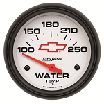 C3 C4 C5 C6 C7 Corvette 1968-2014+ Autometer 2-5/8 inch Water Temperature 100-250F - GM White