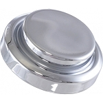C4 Corvette 1984-1991 Master Cylinder Cap Cover - Short Top - Chrome