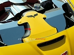 C6 Corvette Z06 / Grand Sport / LS3 2006-2013 Custom Painted Air Tube Cover