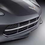 C7 Corvette Stingray 2014+ Stingray Stainless Grille Insert