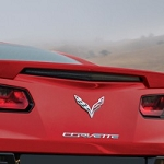 C7 Corvette Stingray 2014+ Paint Matched Rear Spoiler- Blade Style