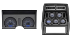 C3 Corvette 1978-1982 VHX Series Digital Dash - Carbon Fiber-Style Face
