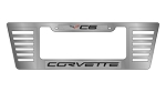 C6 Corvette 2005-2013 Large Rear License Plate Frame
