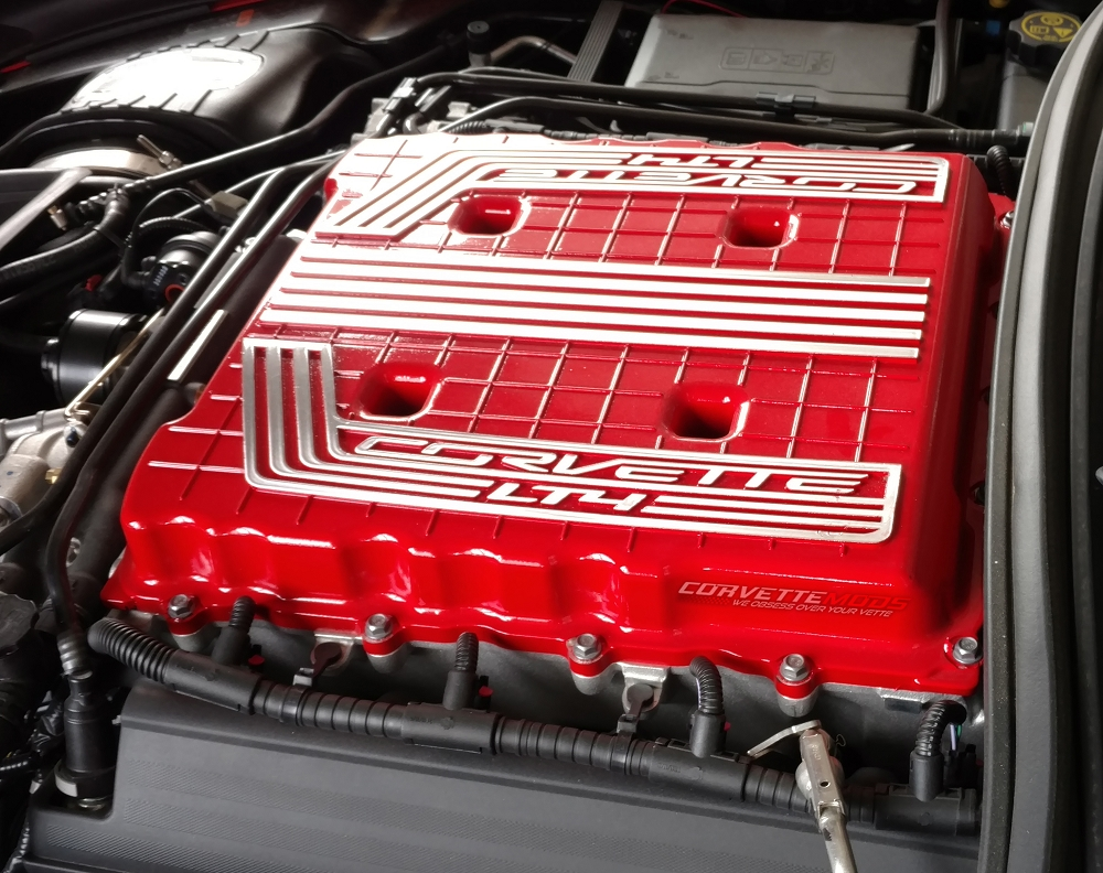C7 Corvette Z06 2015+ Custom Painted Supercharger Cover ...