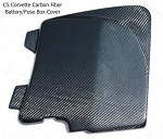 C5 Corvette 1997-2004 Hydro Carbon Fiber Battery/Fuse Box Cover