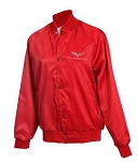 C6 Corvette 2005-2013 Satin Jackets - Red