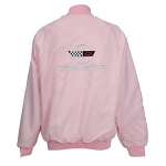 C4 Corvette 1984-1996 Satin Jackets - Pink
