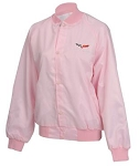C6 Corvette 2005-2013 Satin Jackets - Pink