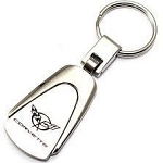 C5 Corvette 1997-2004 Chrome Tear Drop Key Chain