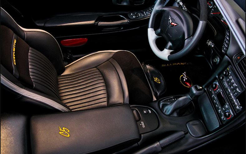 C6 Corvette 2005 2013 Carbon Fiber Vinyl Center Console