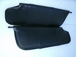 C5 Corvette 1997-2004 Carbon Fiber Vinyl Sunvisor Covers