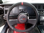 C4 Corvette 1984-1989 Leather Steering Wheel Cover - Two Tone