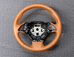 C7 Corvette 2014-2019 Leather Steering Wheel Cover - Two Tone