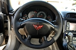C5 Corvette 1997-2004 Perforated Leather Steering Wheel Cover