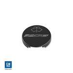 C7 Corvette Stingray/Z06/Grand Sport 2014-2019 Colored Hydro Carbon Billet Aluminum Washer Fluid Cap Cover w/ Logo