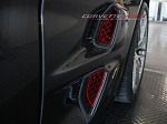 C6 Corvette 09-12 Custom Painted ZR1 Stainless Side Vents 4pc