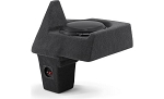 C7 Corvette Stingray/Z06/Grand Sport 2014-2019 Custom Fit Fiberglass Corner Sub Box w/ One 10 Inch TW Subwoofer - Coupe Only