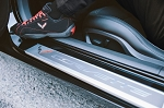 C7 Corvette 2014+ Piloti Driving Shoes - Red/Black w/ Logos - Sizes 6.5-13