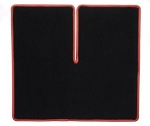 C4 Corvette 1990-1996 Black Cargo Mat w/ Accent Color Binding - Coupe ONLY