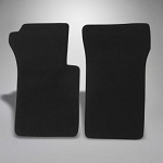 C2 Corvette 1963-1967 Basic Black Cut-Pile Floor Mats