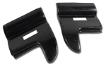 C2 Corvette 1963-1967 Rear Lower Fender Tips - Pair