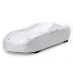 C7 Corvette Stingray / Z51 / Z06 / Grand Sport 2014-2019 Embossed Intro-Guard Car Cover - Indoor / Outdoor - Silver