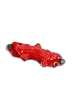 C2 Corvette 1965-1967 Remanufactured Lipseal Caliper - Powder Coated Red