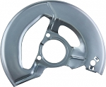 C2 Corvette 1965-1967 Caliper Backing Plate - Silver