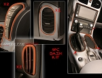 C6 Corvette 2005-2013 Custom Painted Interior Dash Trim Kit - 9 Pcs