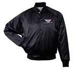 C5 Corvette 1997-2004 Satin Jackets - Black