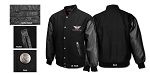 Corvette C5 C6  Varsity Jacket w/Applique Front - Color Options