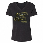 C7 Corvette 2014+ Ladies Le Mans Double Trouble Tee