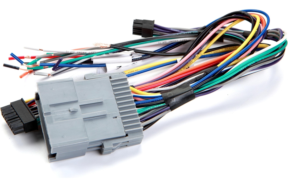 C6 Corvette 2005-2013 Stereo Wiring Harnesses - For Aftermarket ...