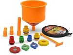 Spill Proof Radiator Coolant Filling Funnel Kit