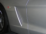 C6 Corvette 2005-2013 Stainless Steel Side Vent Grilles - 3 Finish Options