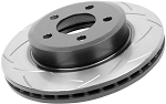 C6 Corvette 2005-2012 DBA  Rear T2 Street Series Uni-Directional Slotted Rotor
