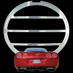 C6 Corvette 2005-2013 Chrome Tail Light Louver Set