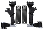 C3 Corvette 1974-1977 OE Style Seat Belts/Dual Retractors -  Pair
