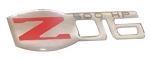 C6 Corvette Z06 2006-2013 Domed Emblem - Color & Size Options