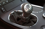 Corvette C6 Carbon/Centennial Edition Suede/Leather Shift Knobs - 4 Stitching Color Choices