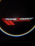 C6 Corvette 2005-2013 LED Projector Lights - Grand Sport Logo