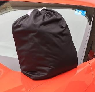 Fleeced Satin FS5205F5 Covercraft Custom Fit Car Cover for Select Cadillac 62 Models Black