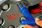 C3 C4 C5 C6 Corvette 1968-2013 Lug Nut Wheel Detailing Brush