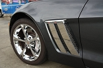 C6 Corvette Grand Sport 2010-2013 Front Fender Trim Plates - 4pc