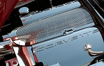C5 Corvette 1999-2004 Fuel Rail Covers - Corvette Lettering