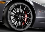 C6 Corvette 2012-2013 GM Centennial Edition OEM Black Cup Wheels