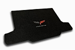 C6 Corvette Lloyds Ultimat Cross Flags & Script Cargo Mat