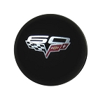 C6 & Z06 Corvette 2005-2013 Shift Knob - Corvette Script & 60th Anniversary Emblem - GM Licensed